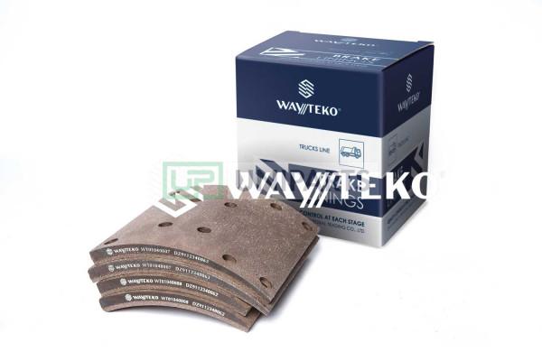 комплект из 8 накладок по 4 шт. каждого артикула PREMIUM Wayteko DZ9112340062/63