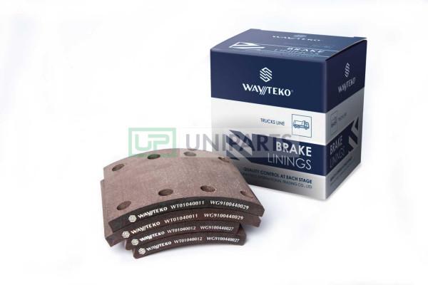комплект передних тормозных накладок 8 шт. (8/6 отверстий) PREMIUM Wayteko WG9100440027/29