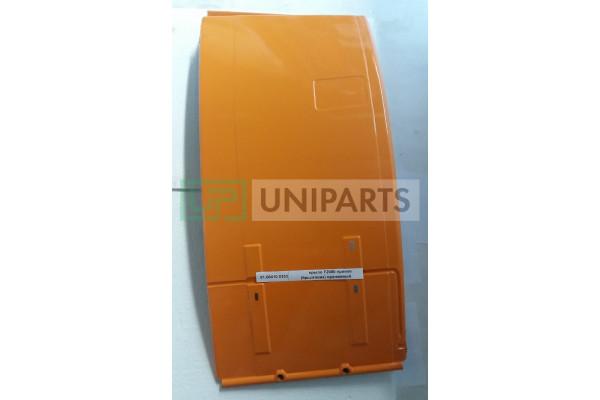 крыло F2000 правое (брызговик) оранжевый SHAANXI 81.66410.0353