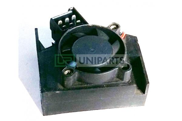 Мотор отопителя с датчиком температуры внутри кабины
