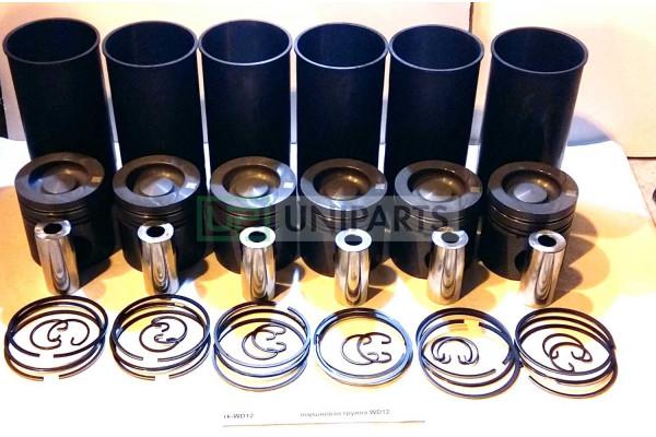 поршневая группа WD618-SPT качество Createk rk-WD618-SPT/61260030017
